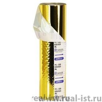 Фольга для ламинирования, 210ммх120м, золото, G04
